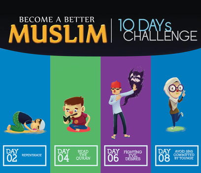 Become A Better Muslim in 10 Days by Blakant