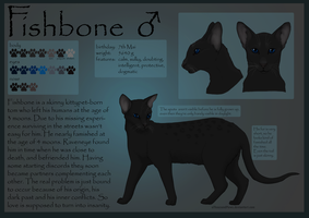 Fishbone Charasheet by aThousandPaws