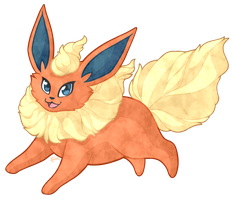 Flareon by Ferne-M