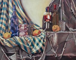 Painting I: Still Life II by DanielleJensen