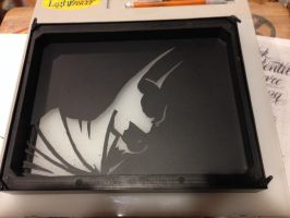 Batman scratch art... by Threedayslong