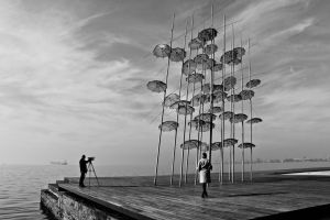 Thessaloniki black and white by freye