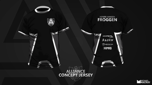 Alliance Concept  Jersey (Fan Art) by Mackaays