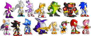 Sonic Runners - New Characters Revealed! by supersilver1242