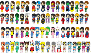 Gokaigers All Alternate Changes by CamiloSama