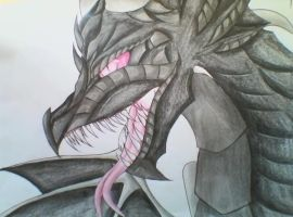 The legends of Ender Dragon by Nocti0bake