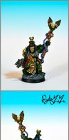 Dark Angel Space Marines Librarian OOP by razzminis