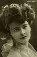 Vintage woman with awesome hairdo 003 by MementoMori-stock