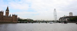 View from the Thames by Phuppet