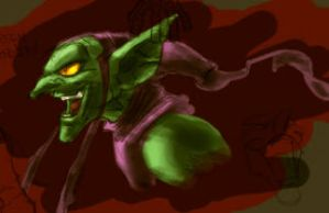 Green Goblin practice by dcjosh