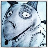 Sparky from Frankenweenie by vampireprincess1710