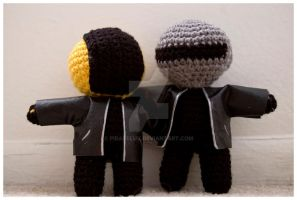 daft punk amigurumi 6 by pirateluv