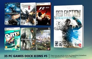 35 PC Games Dock Icons 5 by molobakk