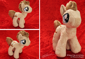 Dr Whooves MLP Plushie by LiChiba