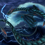 Leviathan - Lord of the Whorl by Naoki-Wolf