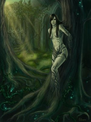 Lady of the Forest by Ilnere