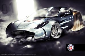 Aston Martin One-77 by Adry53