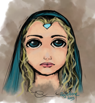 'Big Eyes' Crystal Maiden by Sajedene