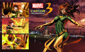 Marvel vs Capcom 3 phoenix by joshtylen