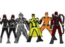 Doomsday Story Arc Cast (heroes) by 127thlegion
