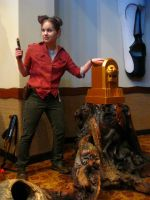 Uncharted Cosplay: Heroes picked up the idol! by LadyofRohan87