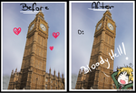 Big Ben - Before and After by Anniih