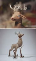 The deer #3 by Gogolle