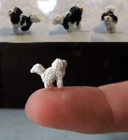 WIP Felix Polymer Clay Dog by Talty