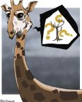 Giraffe by tremblinglight