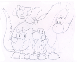 Commish: Dino Buddies by Nintendrawer
