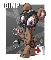 Bear Nuts: Gimp by jmh3k