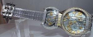 Watch Parts Guitar - Mainsprings in Design by randomasusual