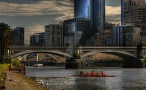 Afternoon on the Yarra by GerryMac