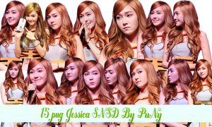 PNG Pack Jessica SNSD #1 By JungPuNy by jungpuny