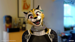 Early FaceRig Test of Verall by zorryn