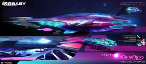 HYUNDAI SPACE TRIP by glaaarg