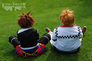 Sora and Roxas - Always Together by VersusMemories