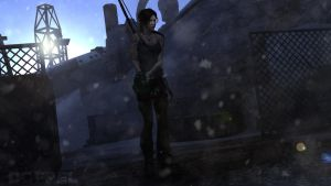 TOMB RAIDER: World war II ruins by doppeL-zgz