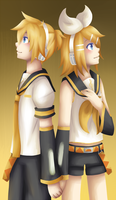 Kagamine -Redone- by lolitaii