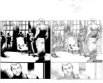 Siege #4 pg 26 with pencils by JulienHB