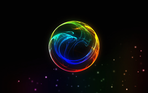 Neon light color ball by Ericoz