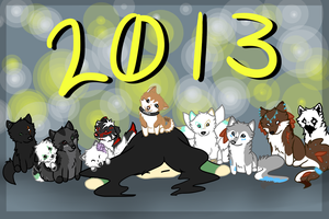 new year 2013 by VictoriWind