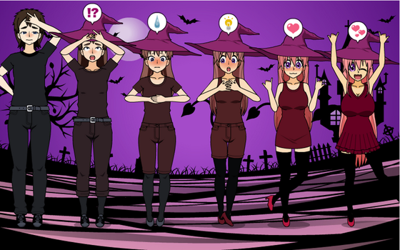 Bewitched IN JULY? Witch Girl TF TG Sequence by greenflame456