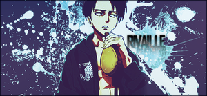 Rivaille Signature v2 by DeathB00K