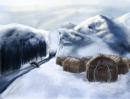 FMP - Mountains by elz-art