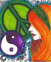 Trippy Hippy by happychick
