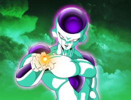 FRIEZA THE ICY DESTROYER OF WORLDS by ERIC-ARTS-inc