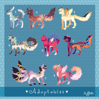 [ CHEAP ADOPTABLES ] Batch 2 [ OPEN 4/8 ] by tuffetti