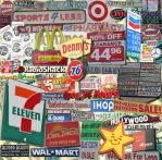 Sign Collage by goodtimes5123
