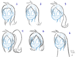 Cite Hairstyle Choices by MiharuWatanabe